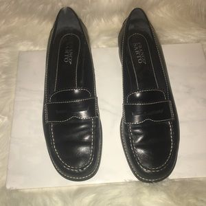 Nice black Franco Sarto flat loafers